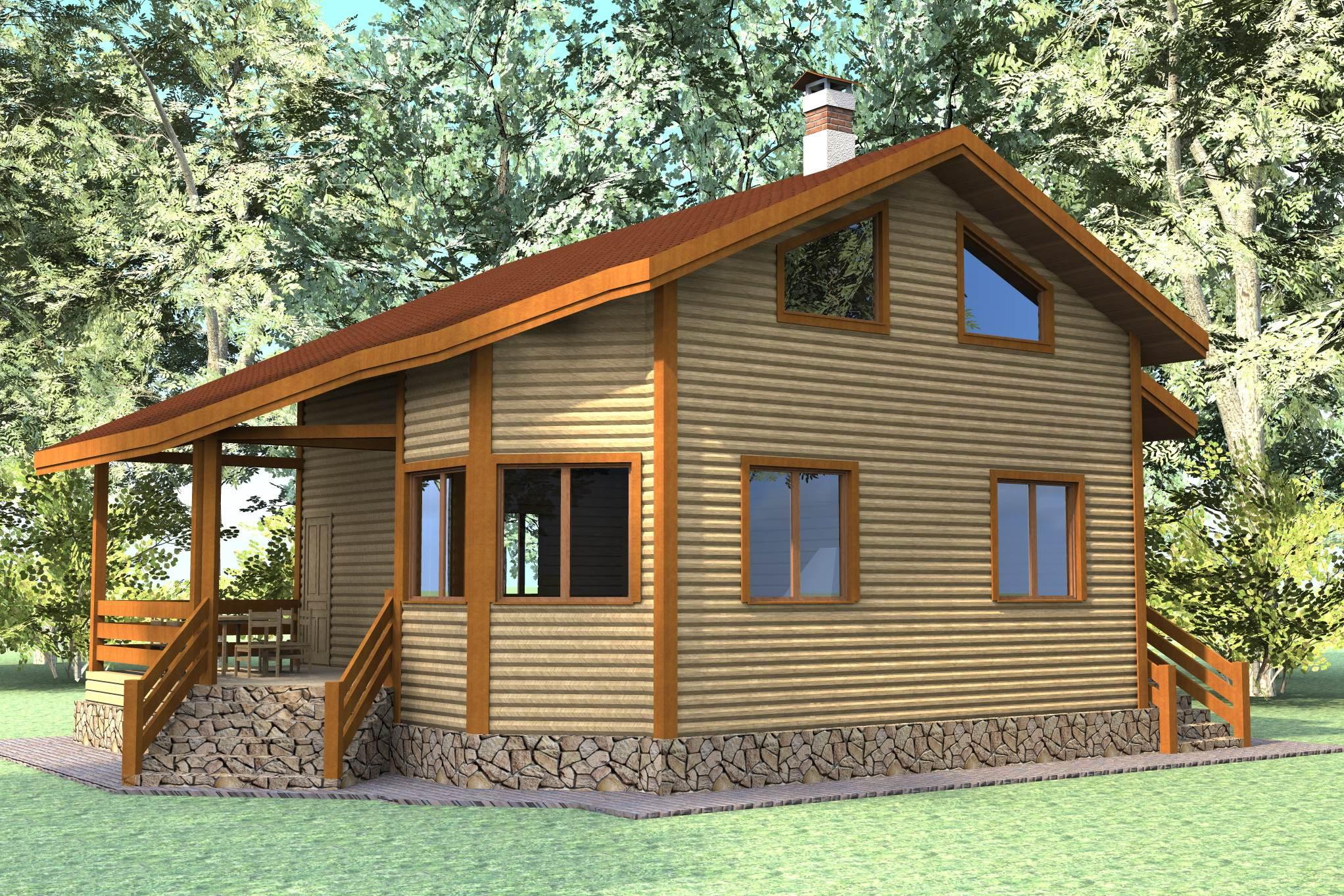 Как построить дом своими руками эконом класса