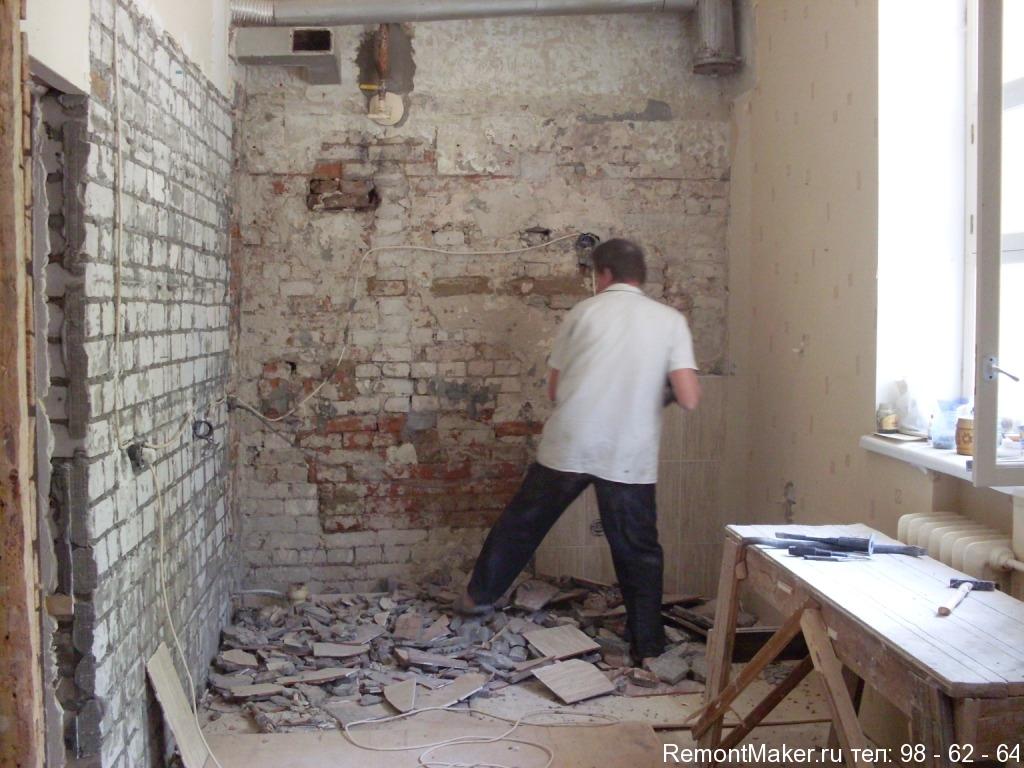Ремонт квартиры  старые дома