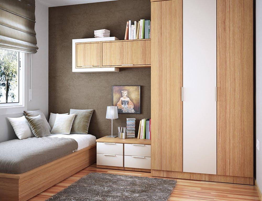Интерьер маленькой комнаты для фото