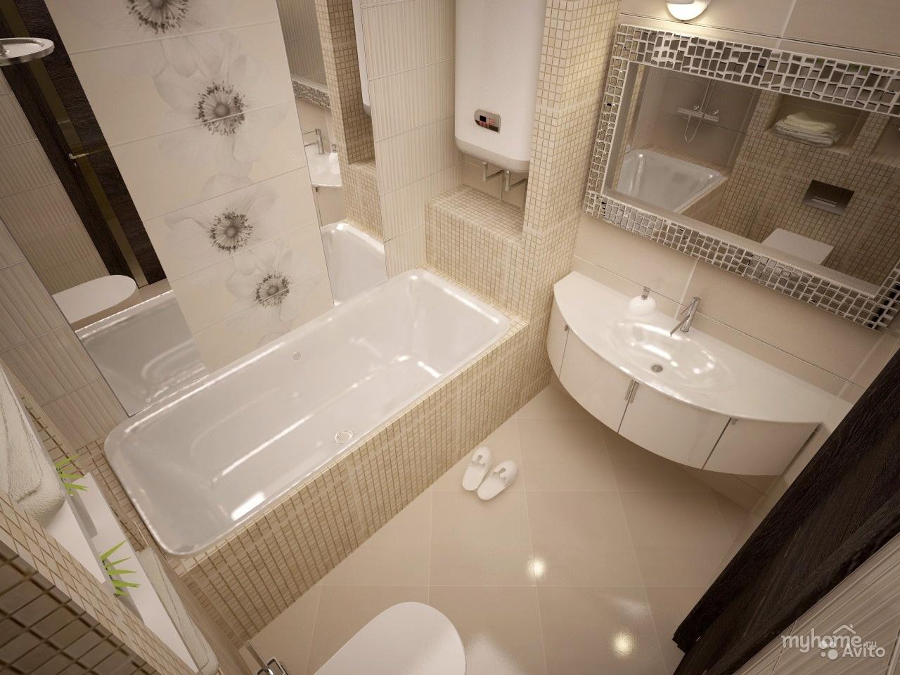 Дизайн квартир фото в ванне