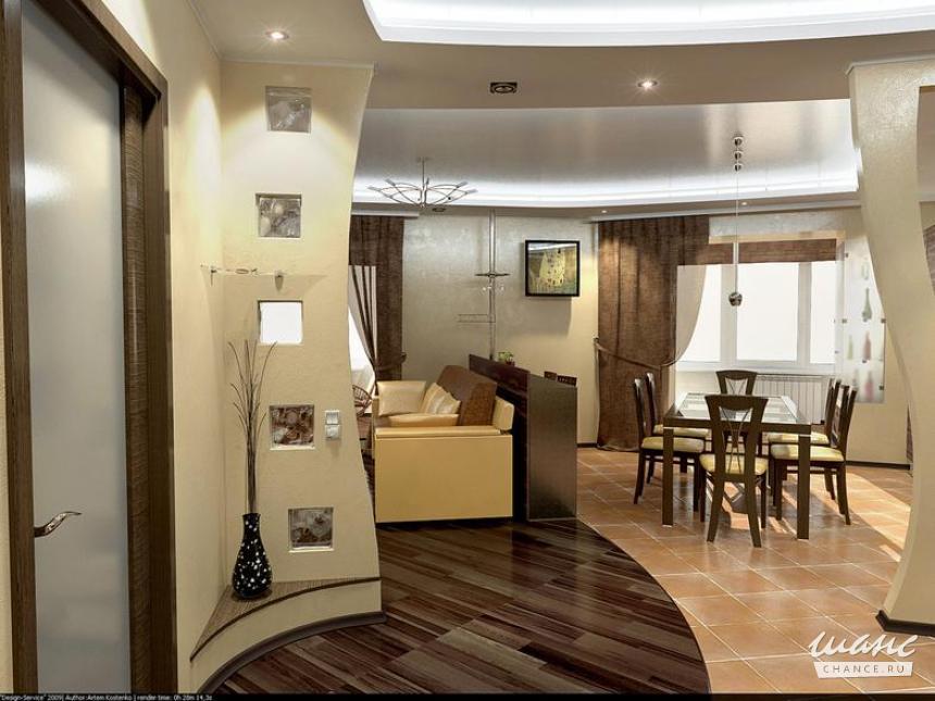 Идеи дизайна 2 х комнатной квартиры