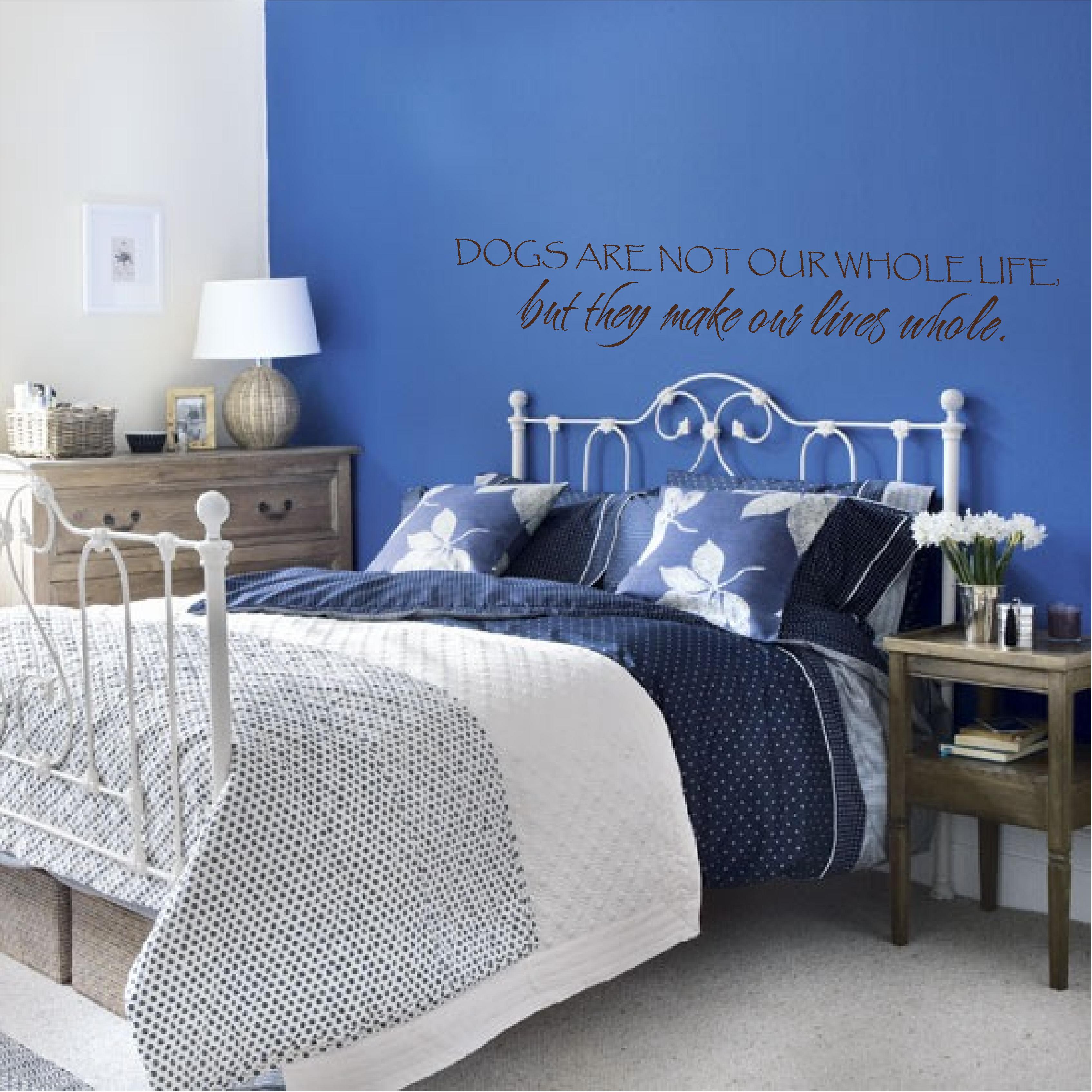 К чему снится синий цвет стенах