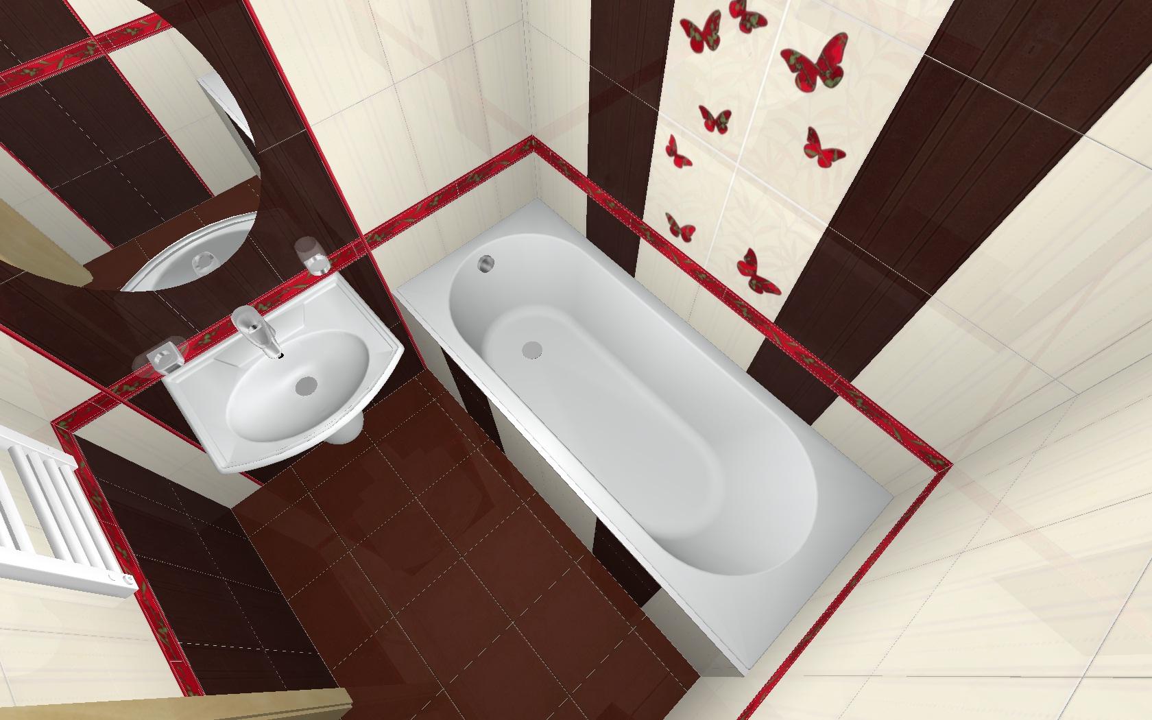 Ванная комната дизайн в обычных квартирах