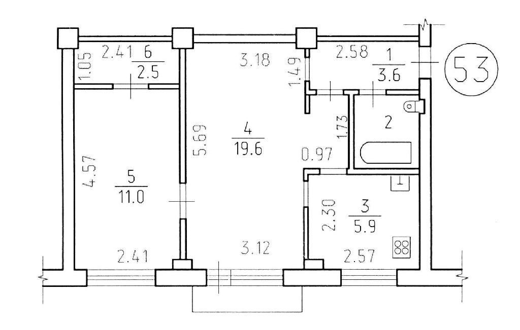 Типовые квартиры в хрущевках