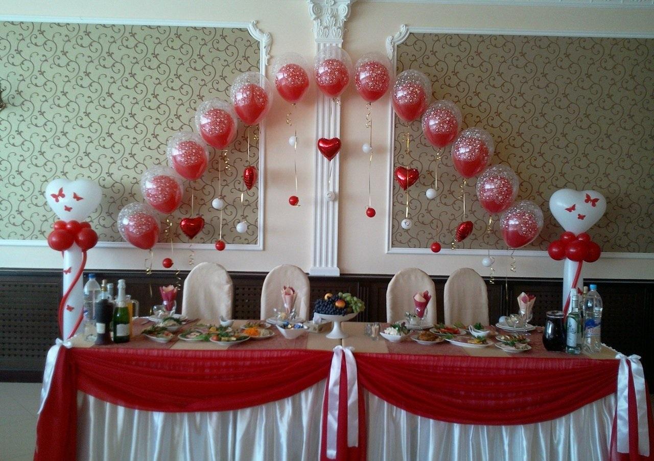 Свадебное украшение зала своими рукам
