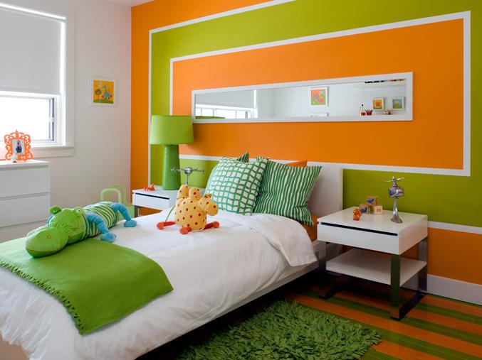 гонады участвуют оранжевый цвет в интерьере детской вот самое