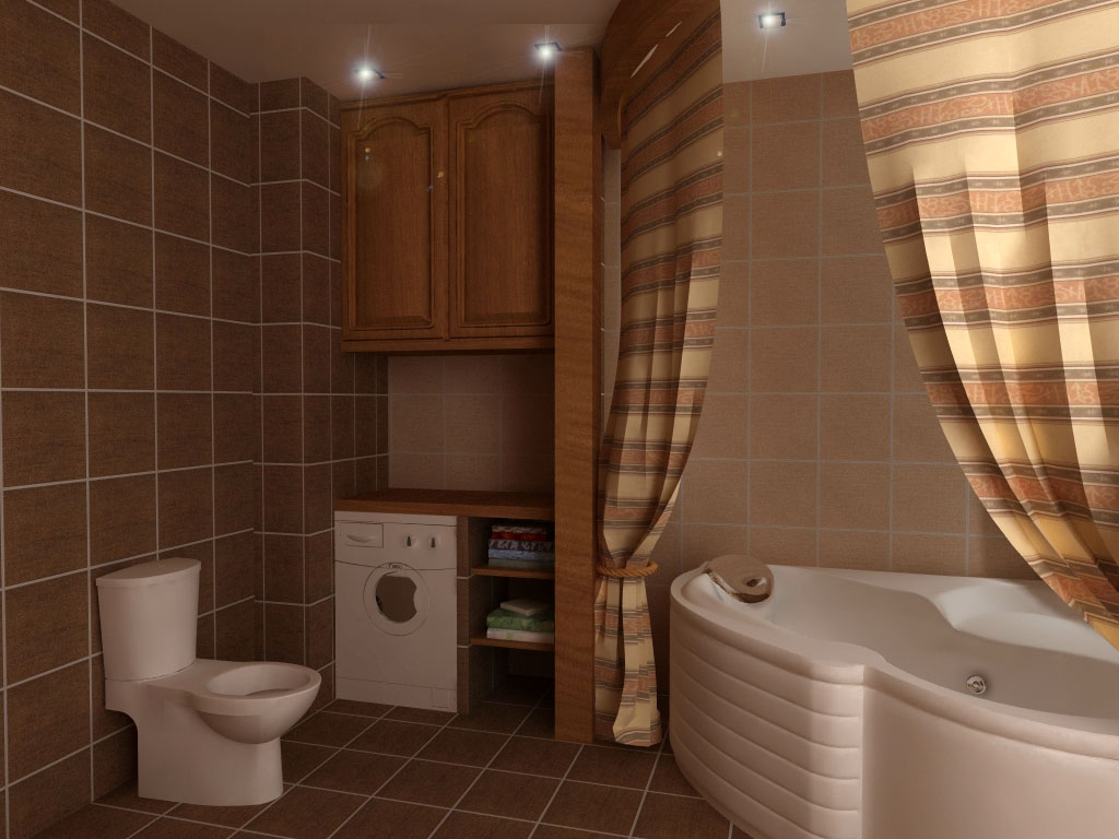 Дизайн ванные комнаты в доме