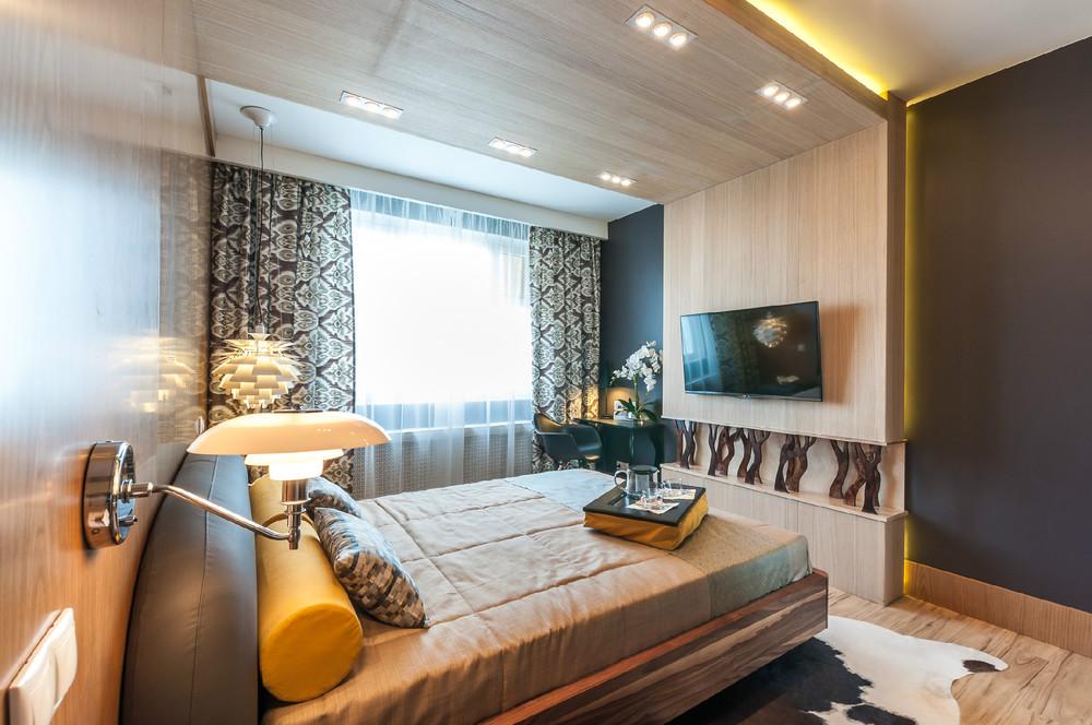 Дизайн 14 метровой спальни