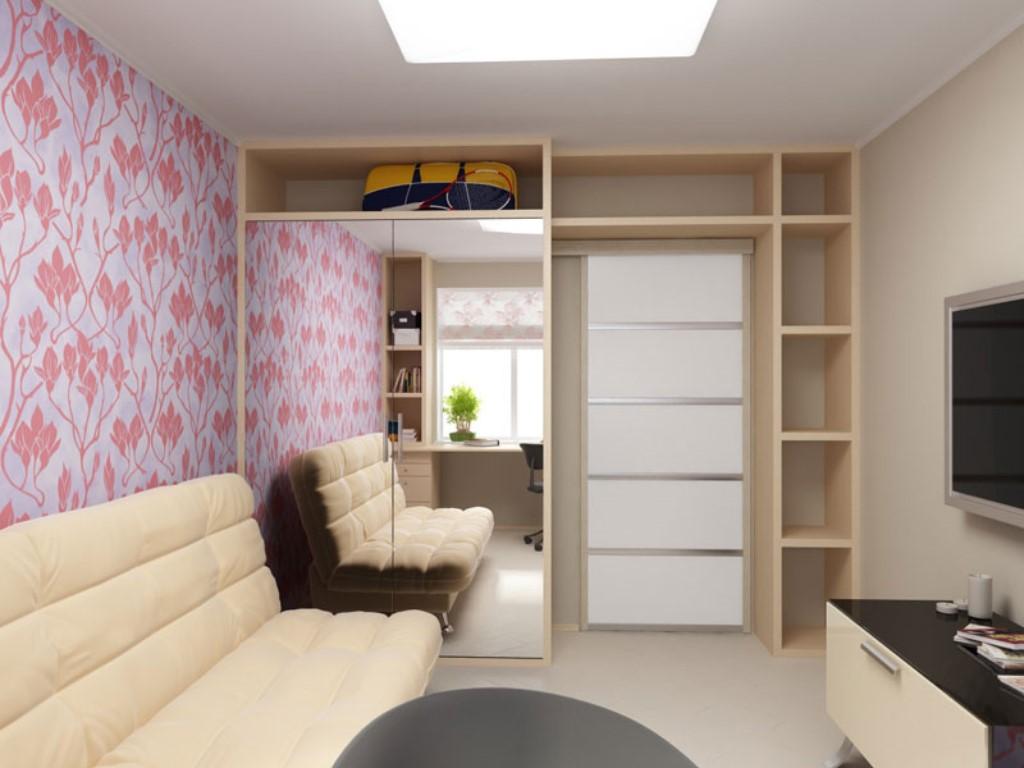 Фото дизайна однокомнатной квартиры московской планировки