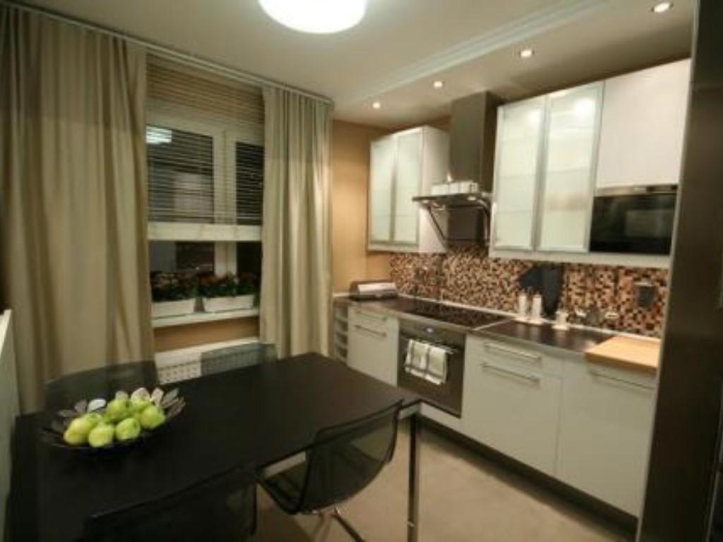 Красивый ремонт кухни 15 м
