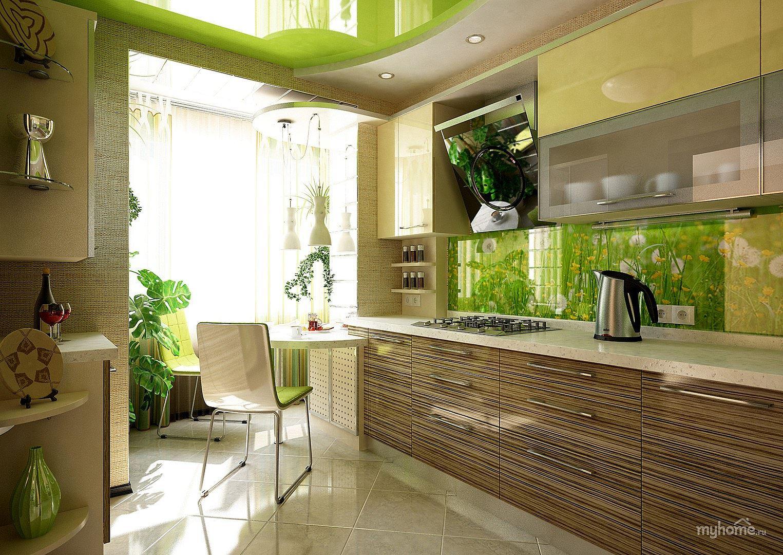 Фото зеленые кухни дизайн