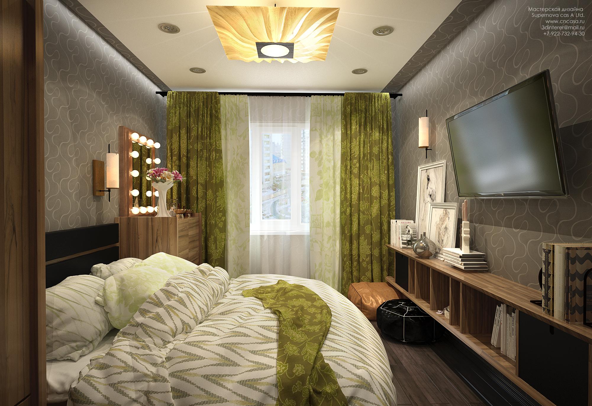 Дизайн квартиры 2 комнатной квартиры