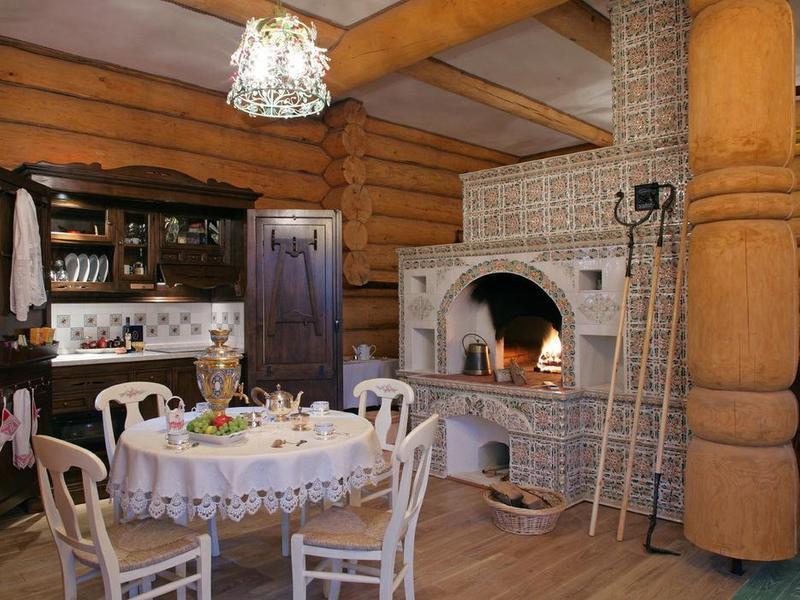 Недорогой дизайн деревенского дома