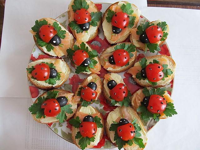 Красивые закуски на праздничный стол рецепты и