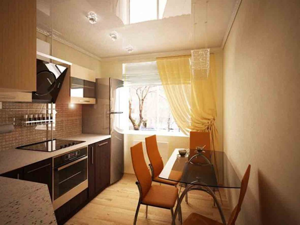 Дизайн маленькой кухни фото 8 кв.м