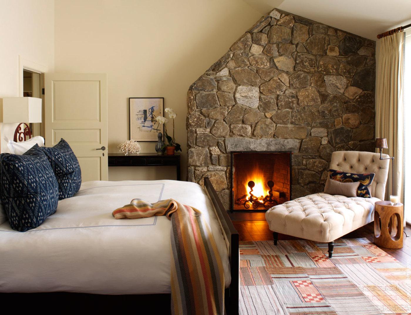 Дизайн спальни уютной