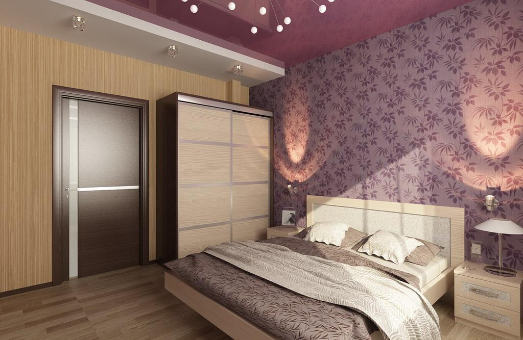 Дизайн спальни эконом класс
