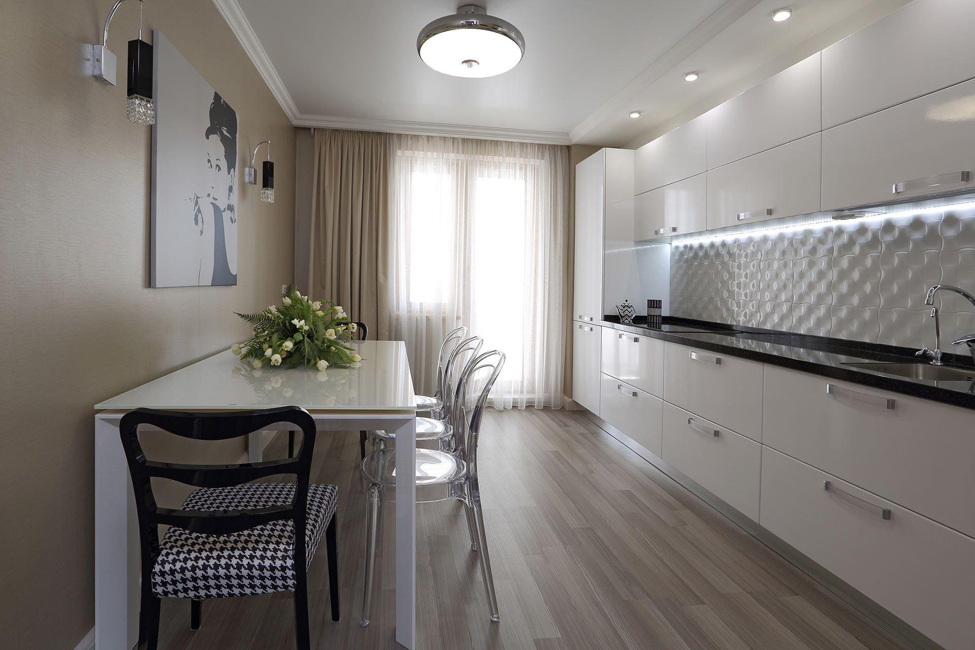Дизайн проекты 3-х комнатных квартир 121 серии