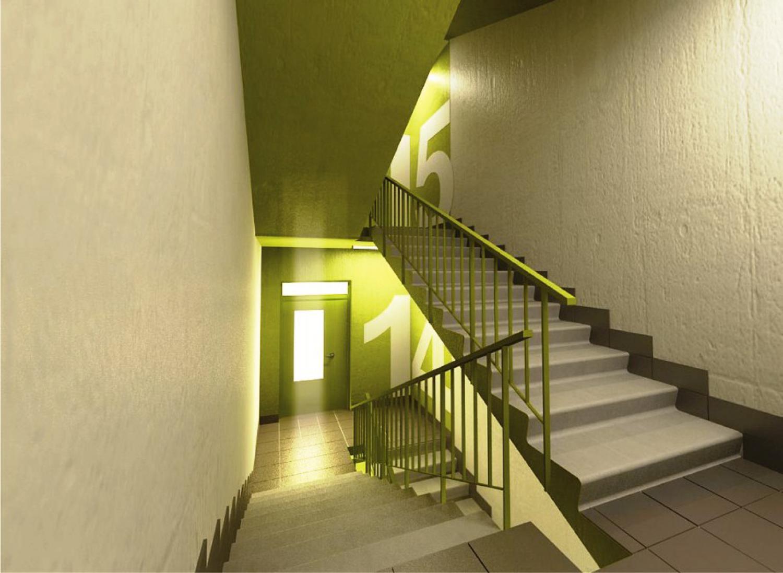 Оформление подъездов жилых домов
