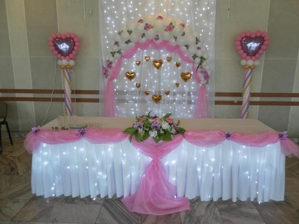 Оформление на свадьбу своими руками фото