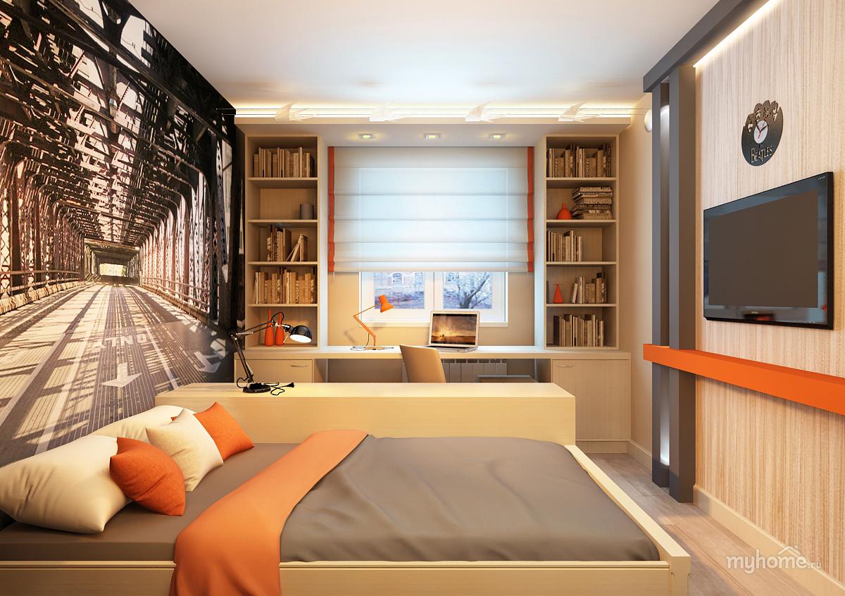 Интерьер комнаты для мальчика подростка 14 лет фото
