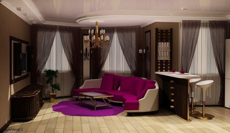 Дизайн кухни совмещённой с комнатой дизайн