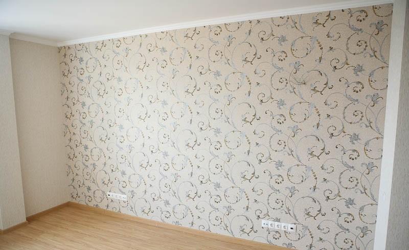 Идеи для оклейки стен обоями фото