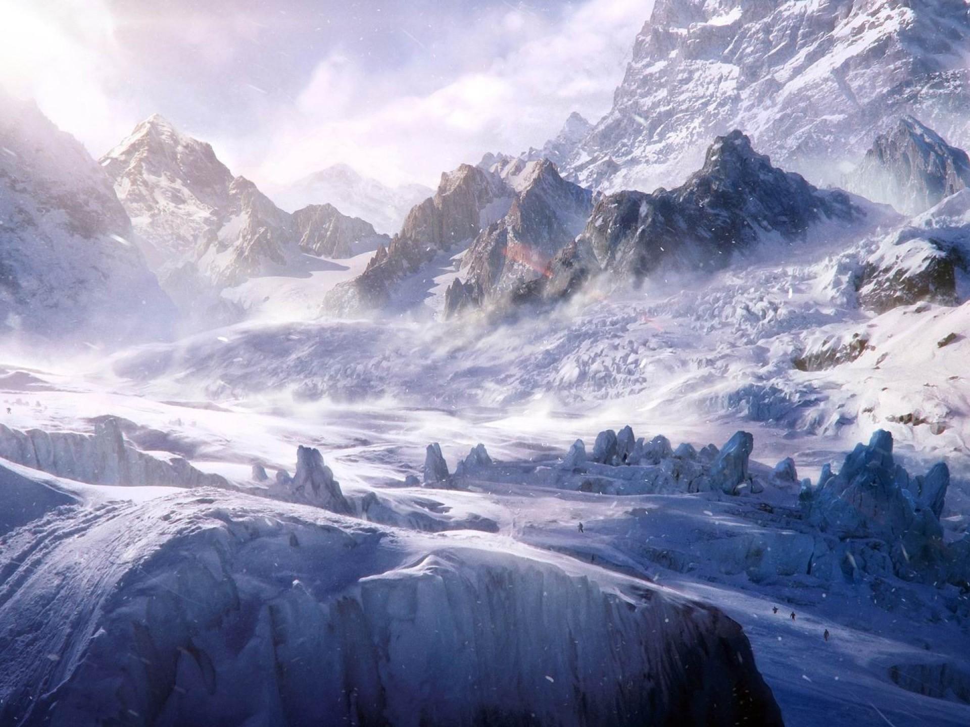 горы высота снег  № 385077 без смс