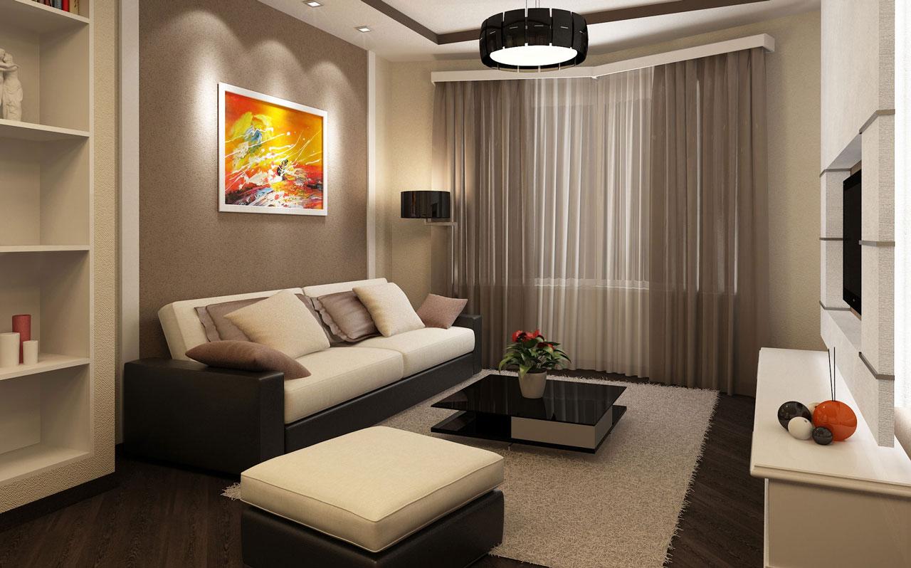 Фото интерьер однокомнатной квартиры маленькой