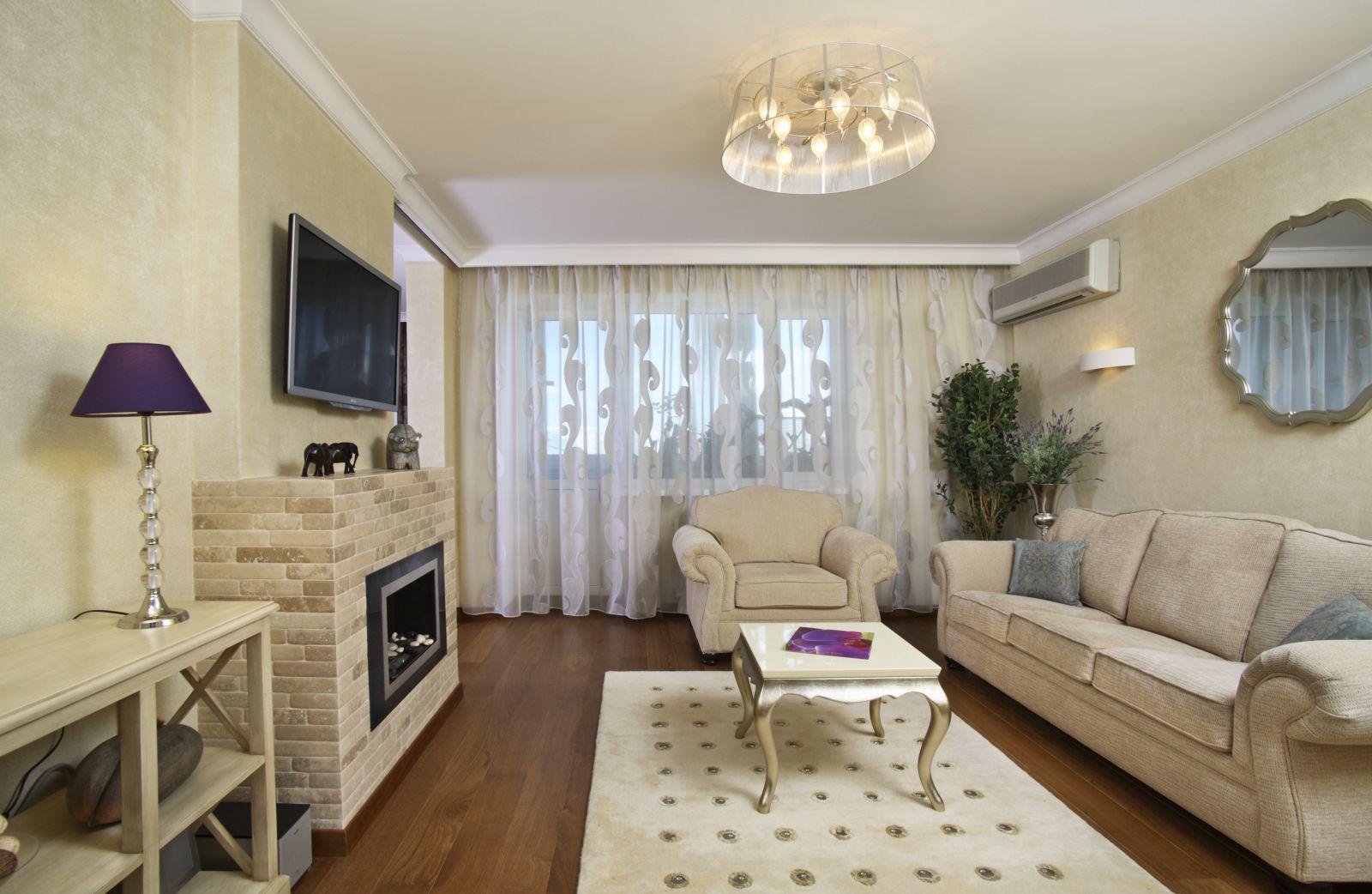 Дизайн Гостиной Со Стенкой Фото Москва