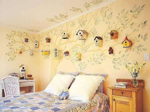 Декор стен своими руками в доме