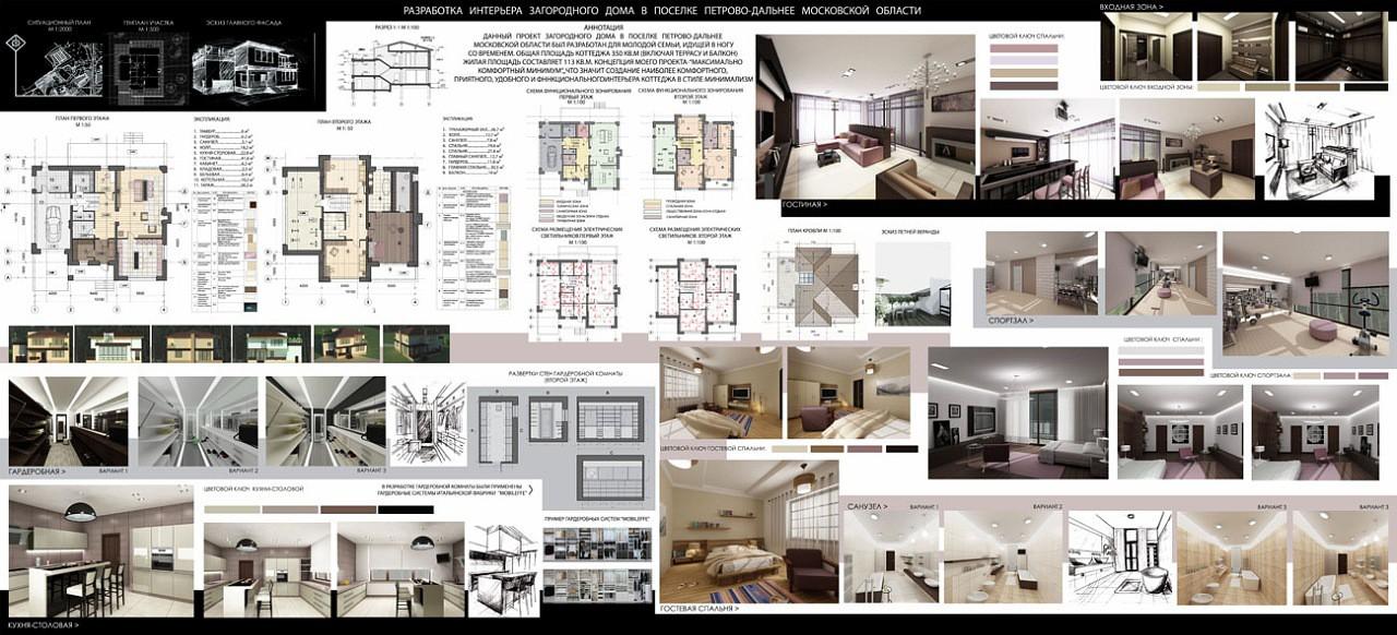 Подача проекта дизайна интерьера 70