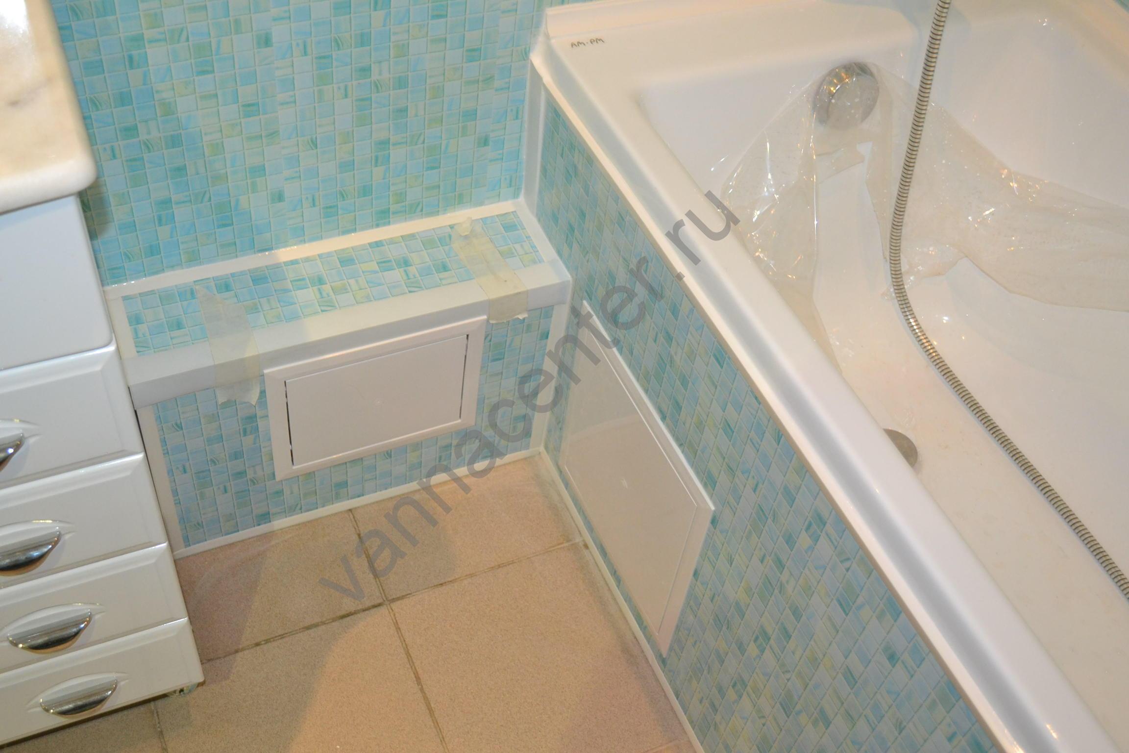 Ремонт в ванной своими руками из панелей 37