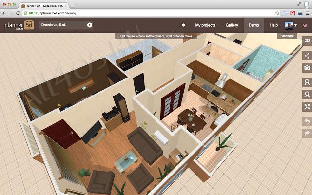 Программа для планировки и дизайна квартиры онлайн