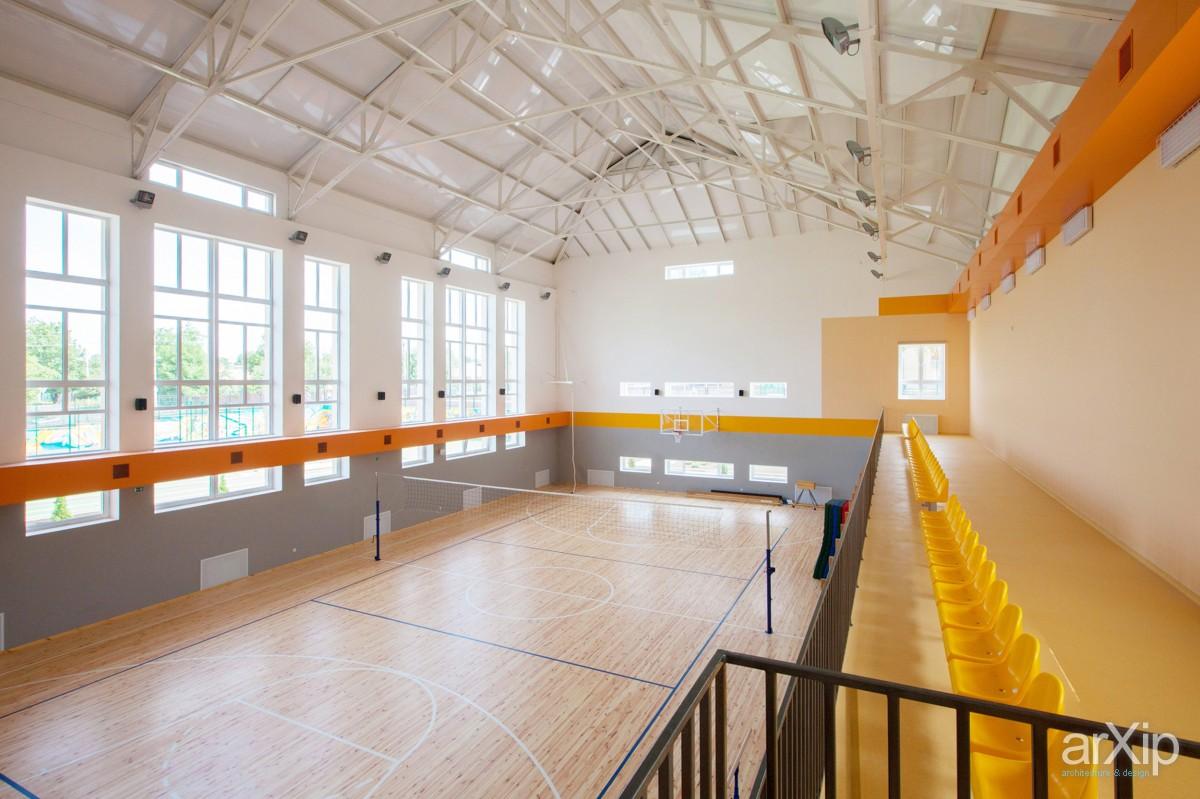 Дизайн спортивной школы