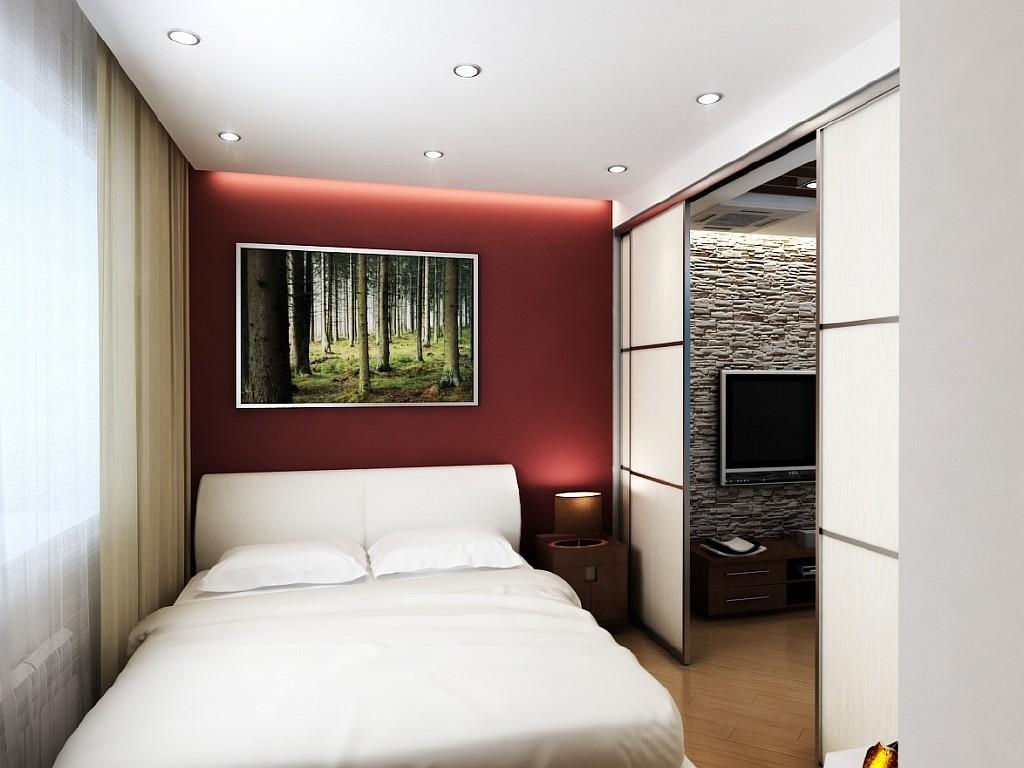 Как сделать спальню в однокомнатной квартире фото