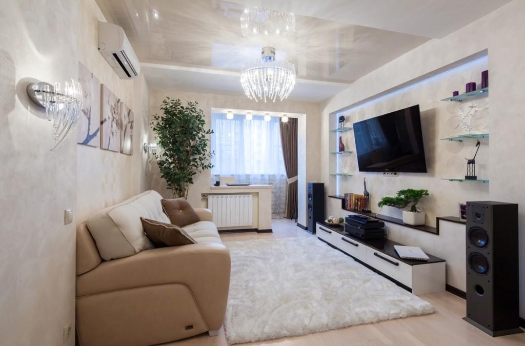 Дизайн однокомнатной квартире в обычной квартире