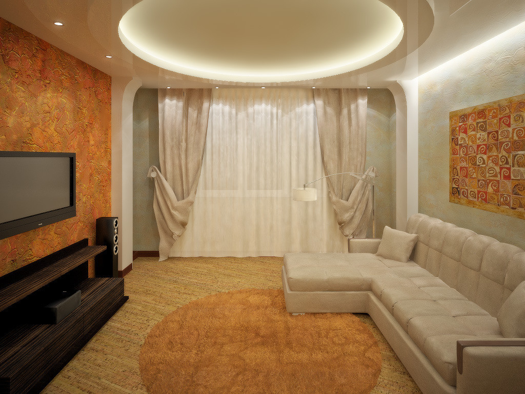 Ремонт зала и дизайн