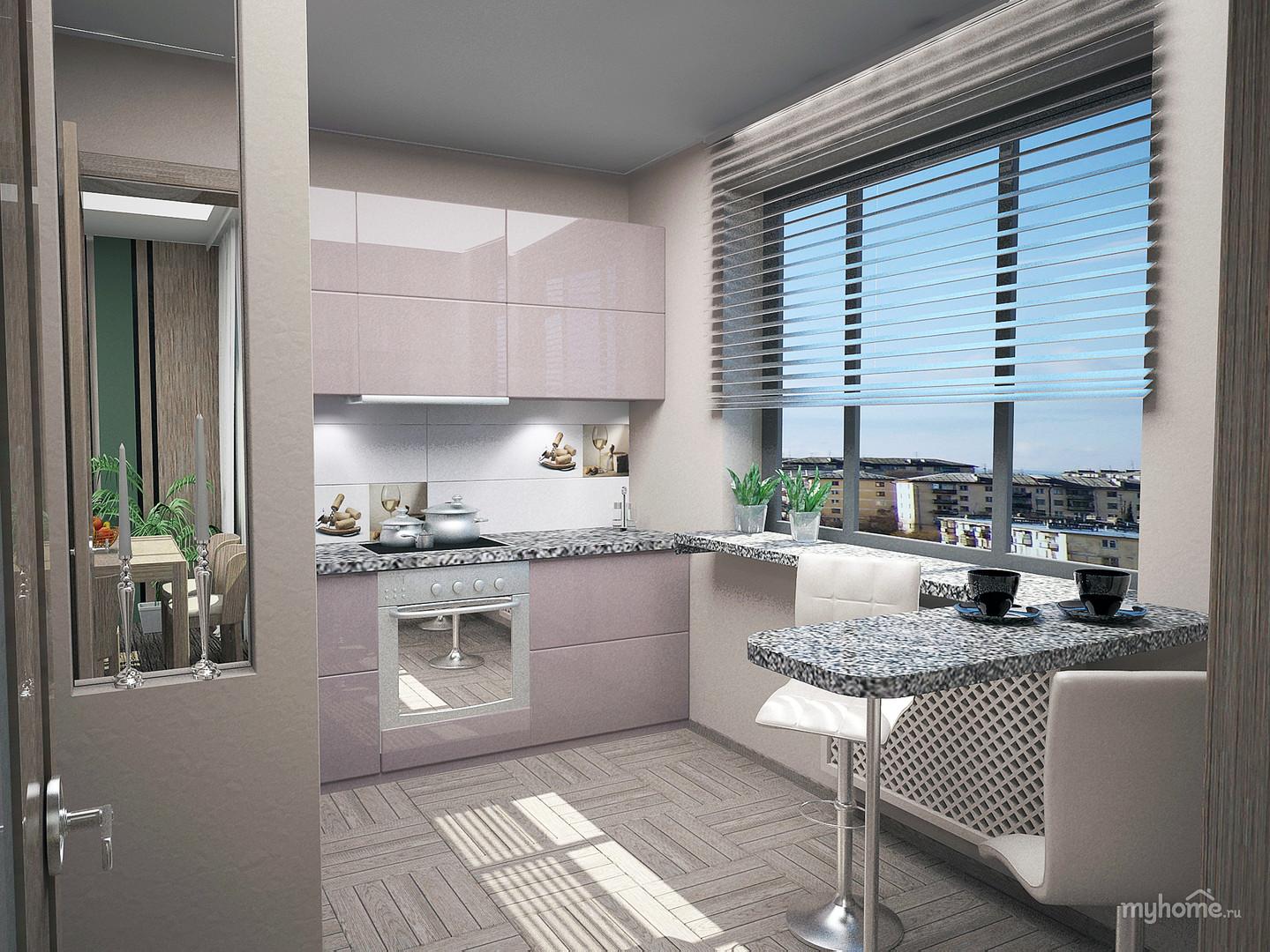 Дизайн кухни типовых квартир панельные дома