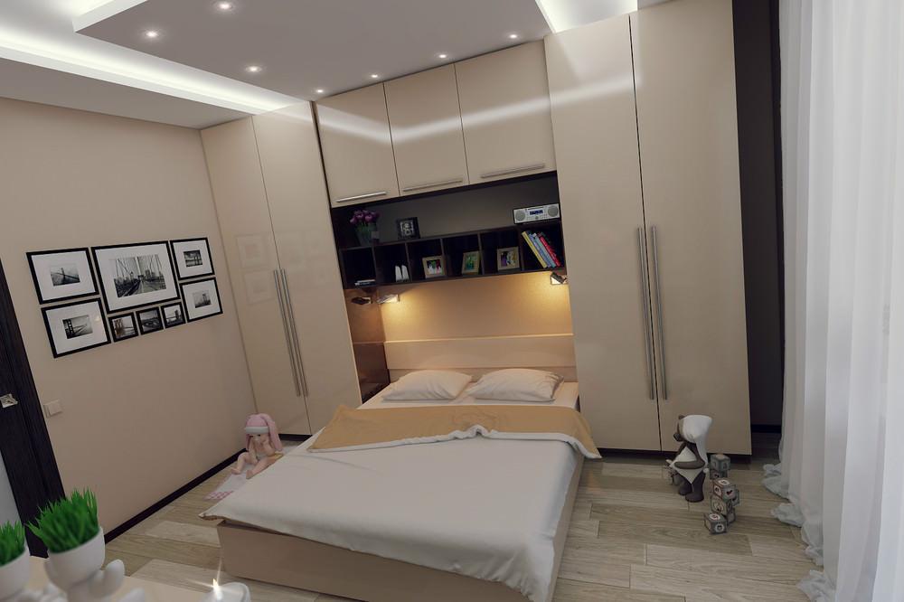 Комната спальня 11 метров дизайн