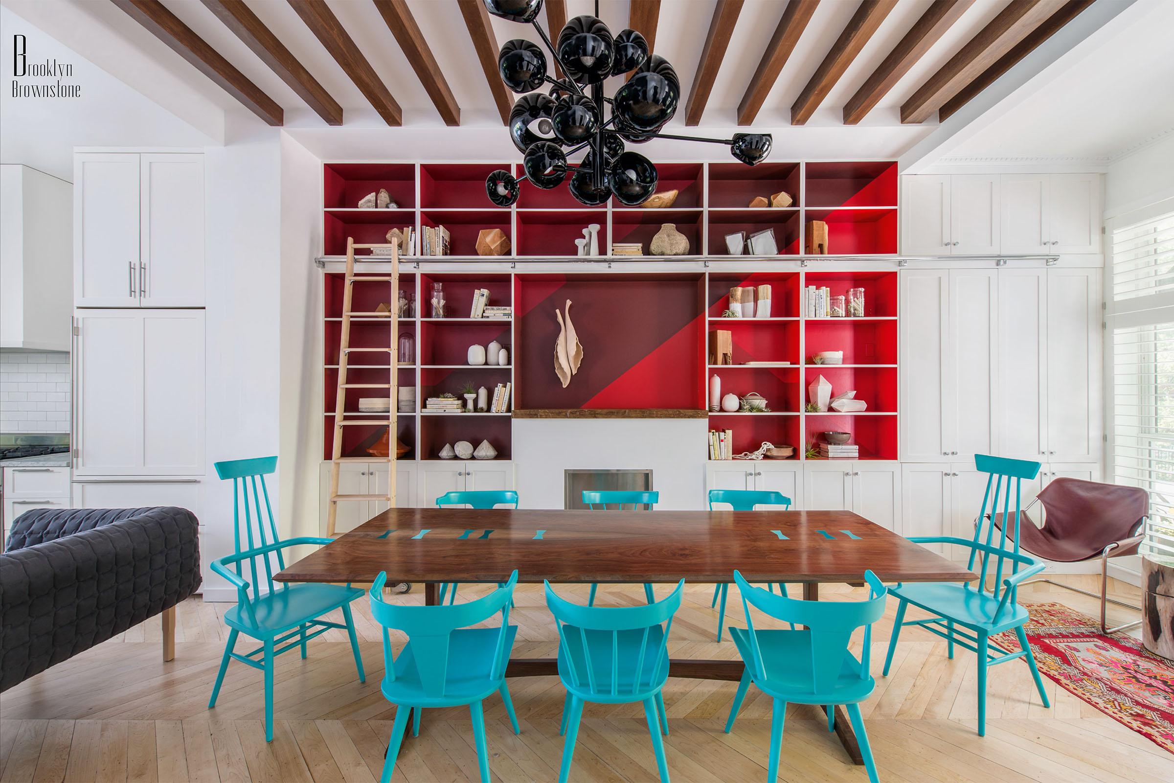 Dining Room Interior Design in Dubai by Luxury Antonovich