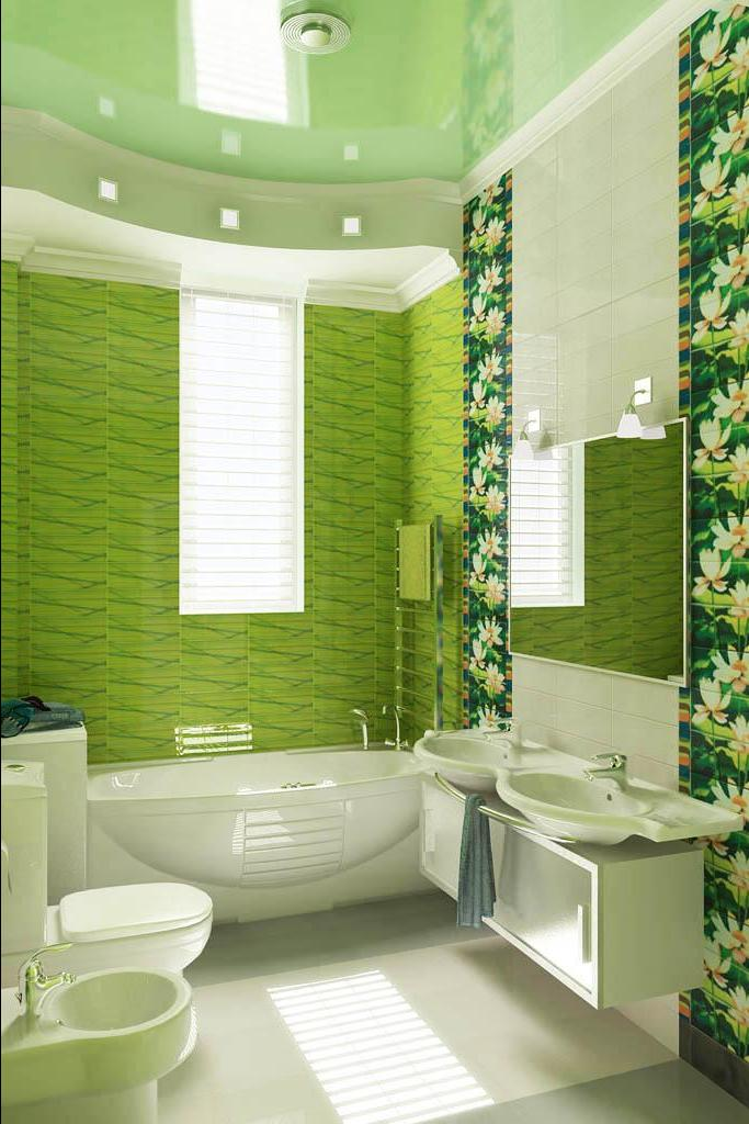 Ванная комната из пвх панелей дизайн