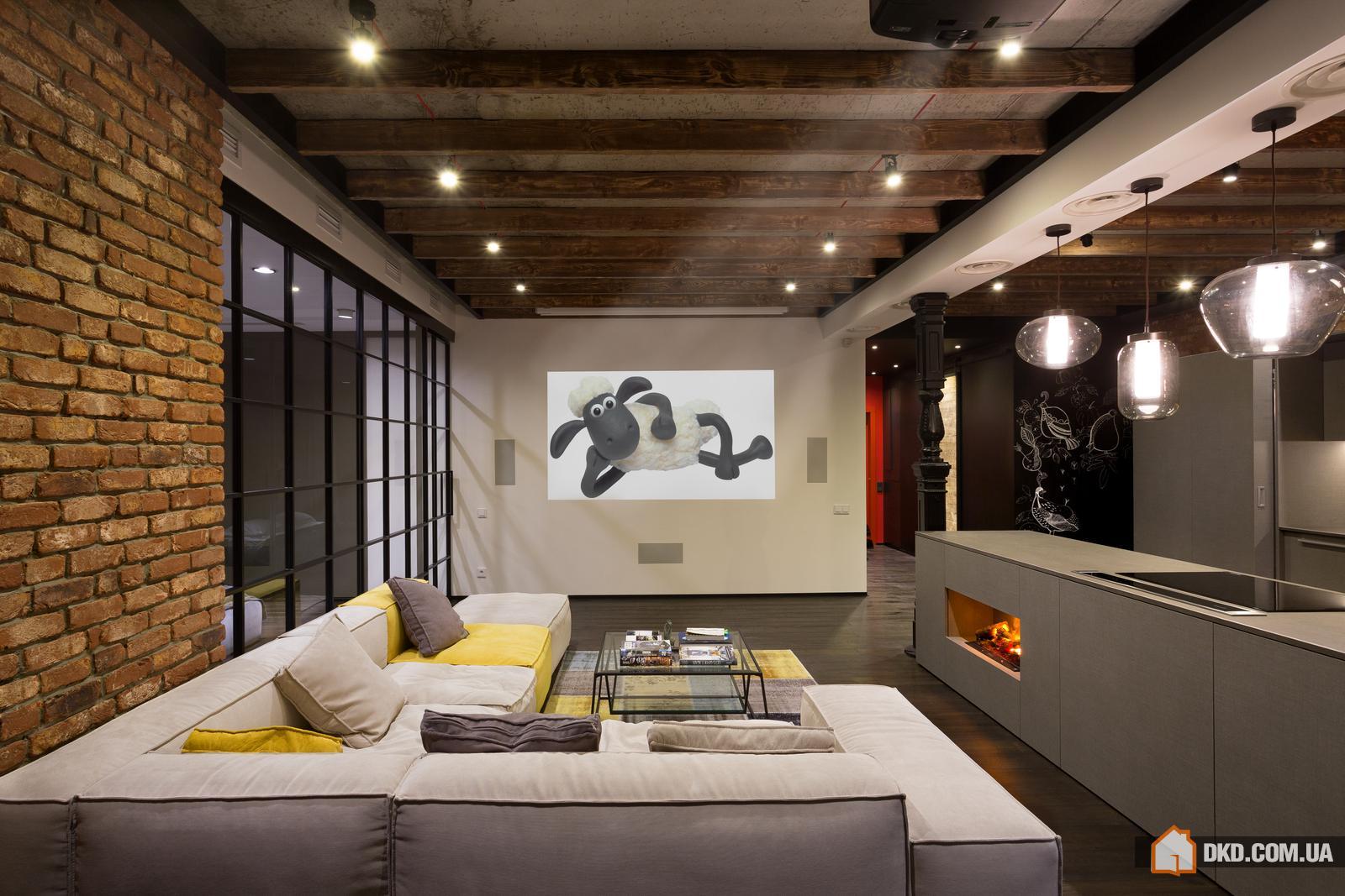 Дизайн лофта с планом помещения