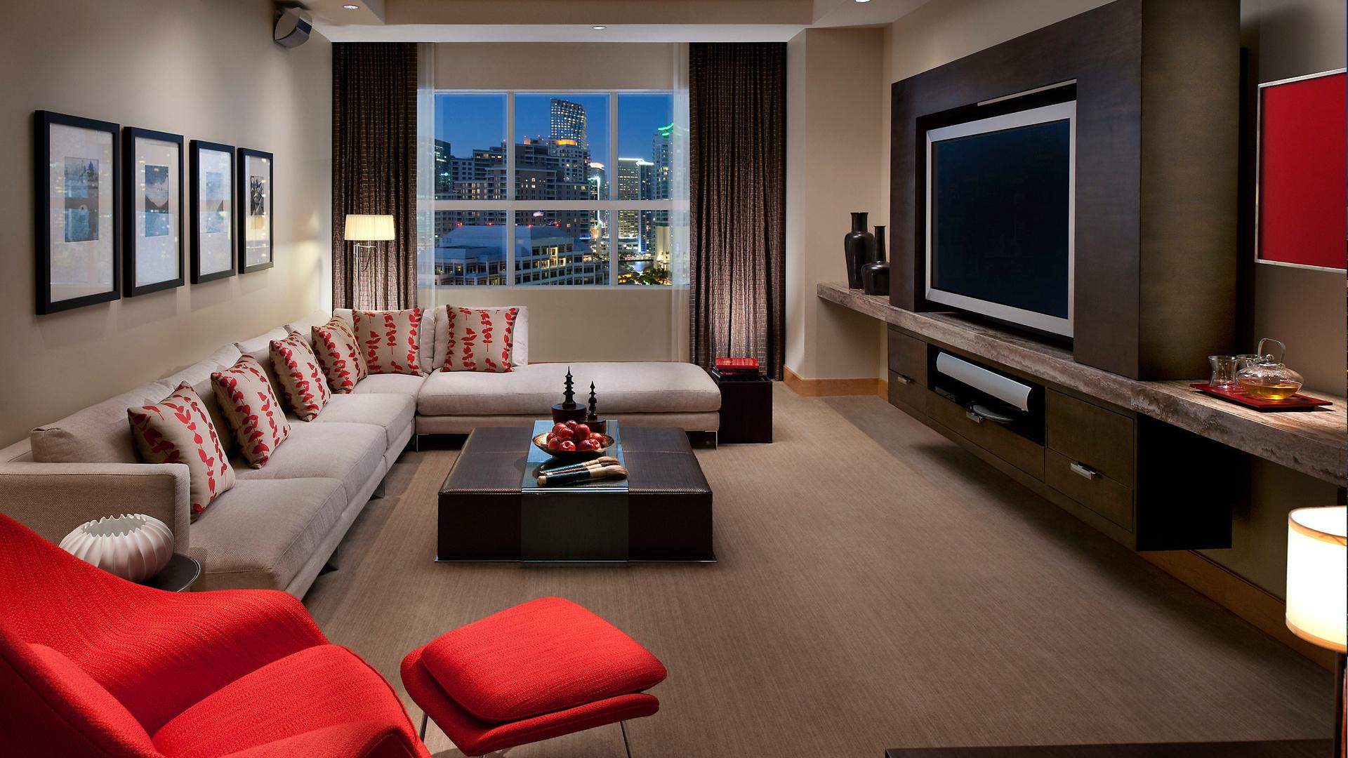 Большие комнаты дизайн фото 138