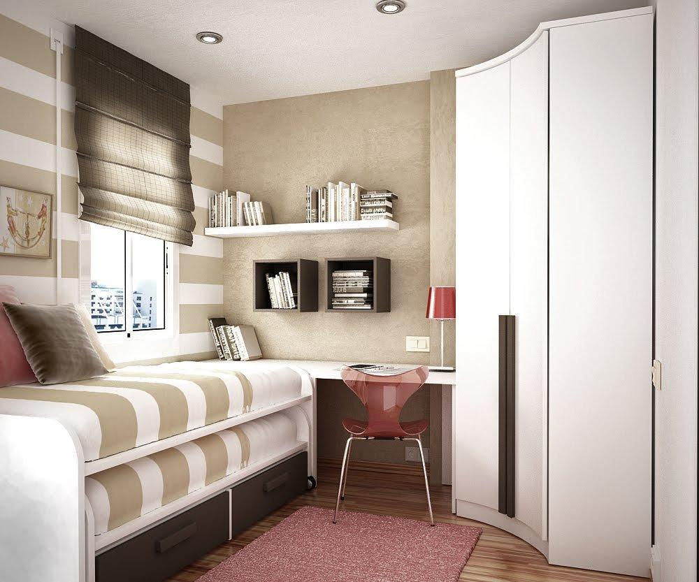 Дизайн комнат маленькой площади 86