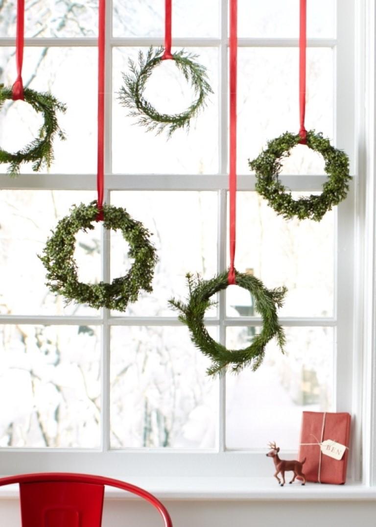 """Как можно украсить дом своими руками на новый год """" Картинки и фотографии дизайна квартир, домов, коттеджей"""