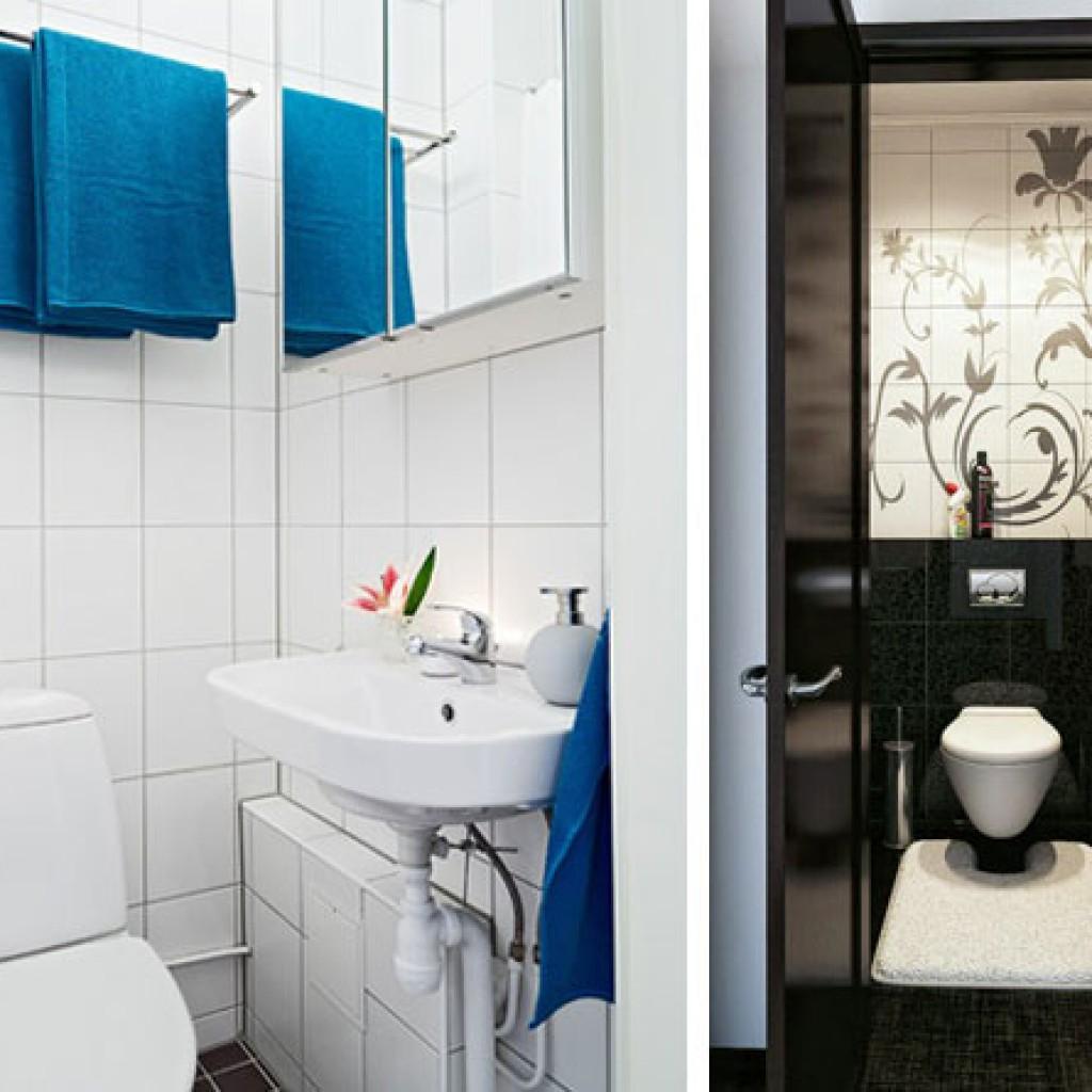 Туалетные комнаты дизайн размеры