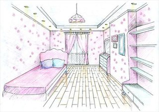 Как рисовать комната моей мечты