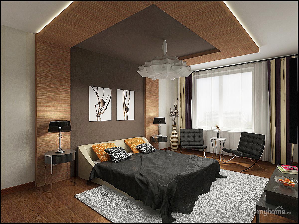 Дизайн комнаты мужчины
