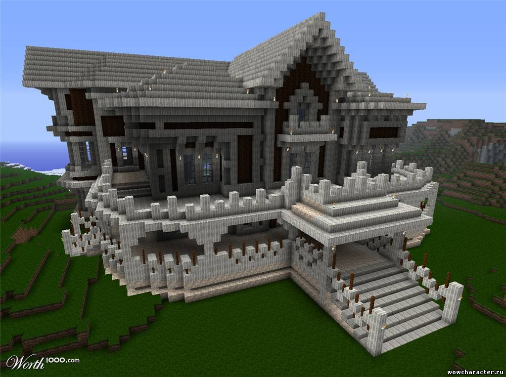 Как сделать шикарные дома